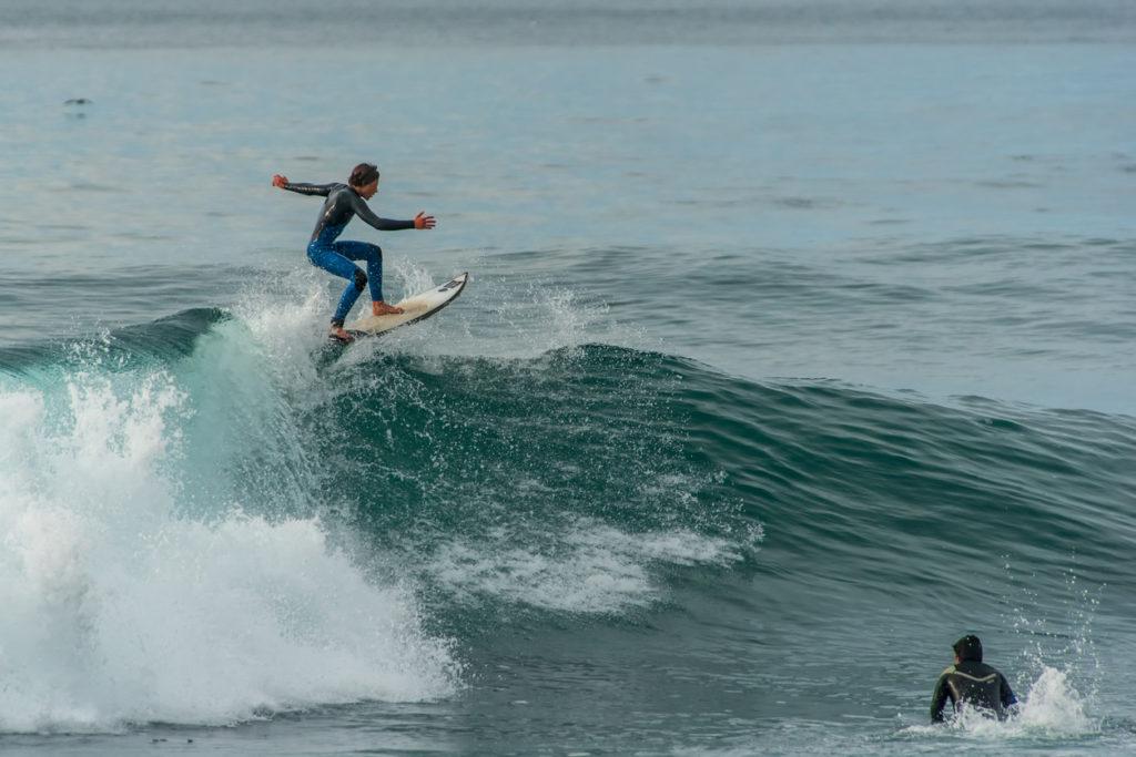 Surfing in Praia do Amando Costa Vicentina