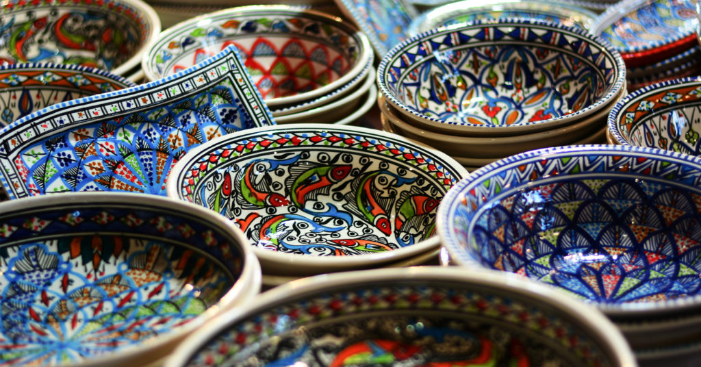 Beautiful objects in the Eastern markets