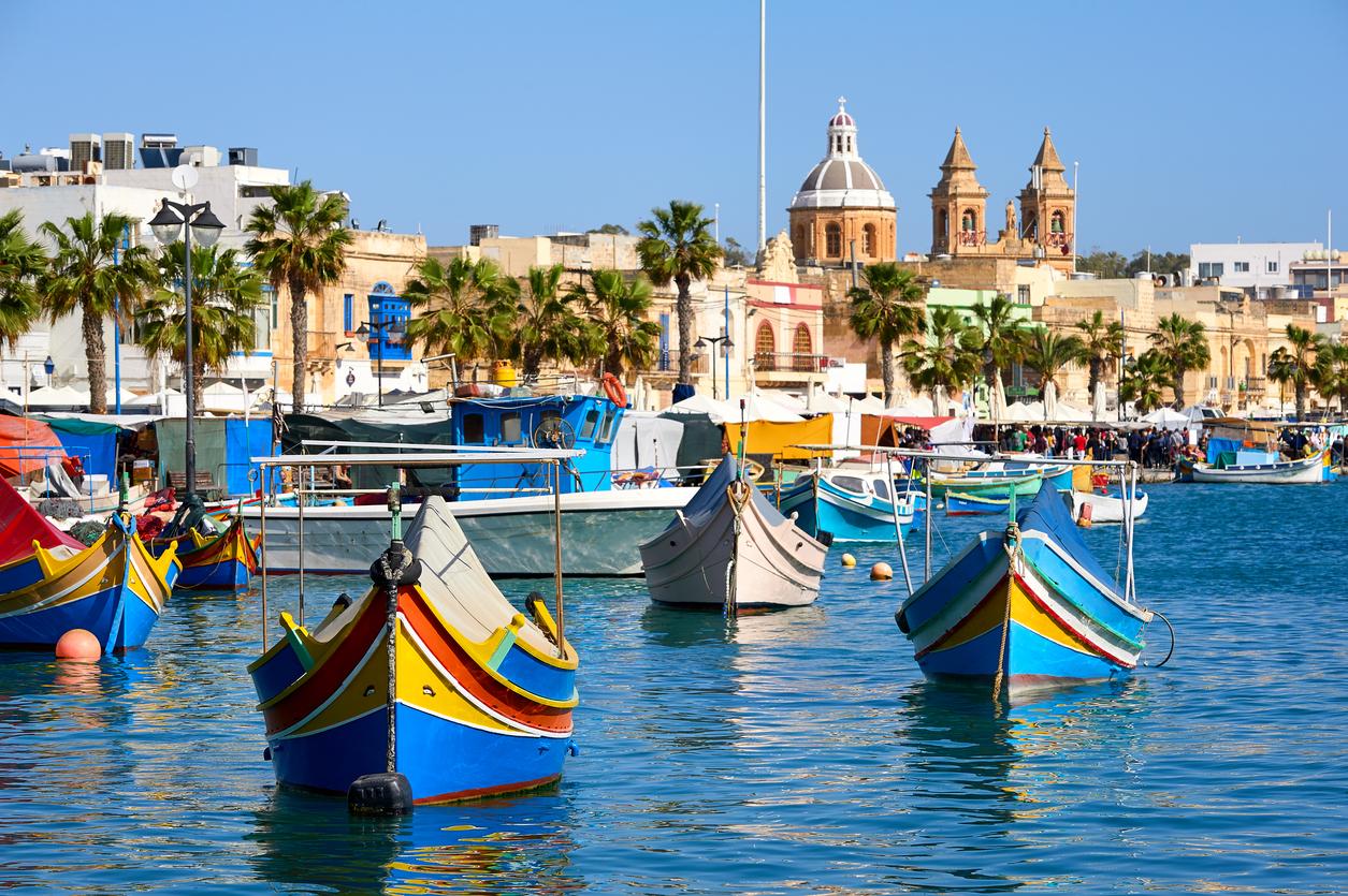 Cultural Malta of Marsaxlokk Harbor