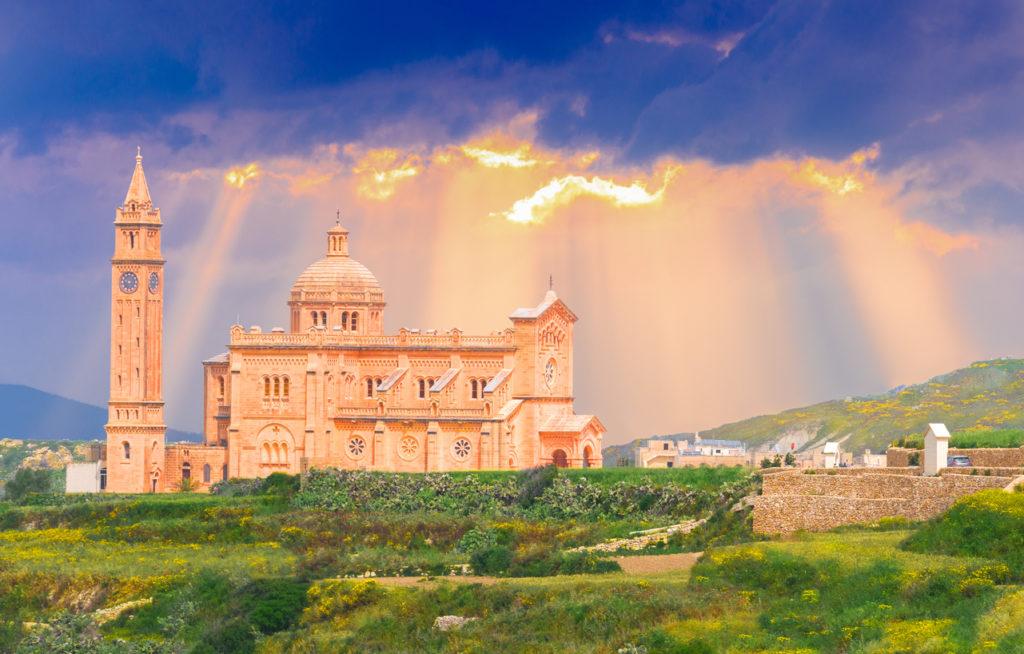 Ta Pinu church in Malta