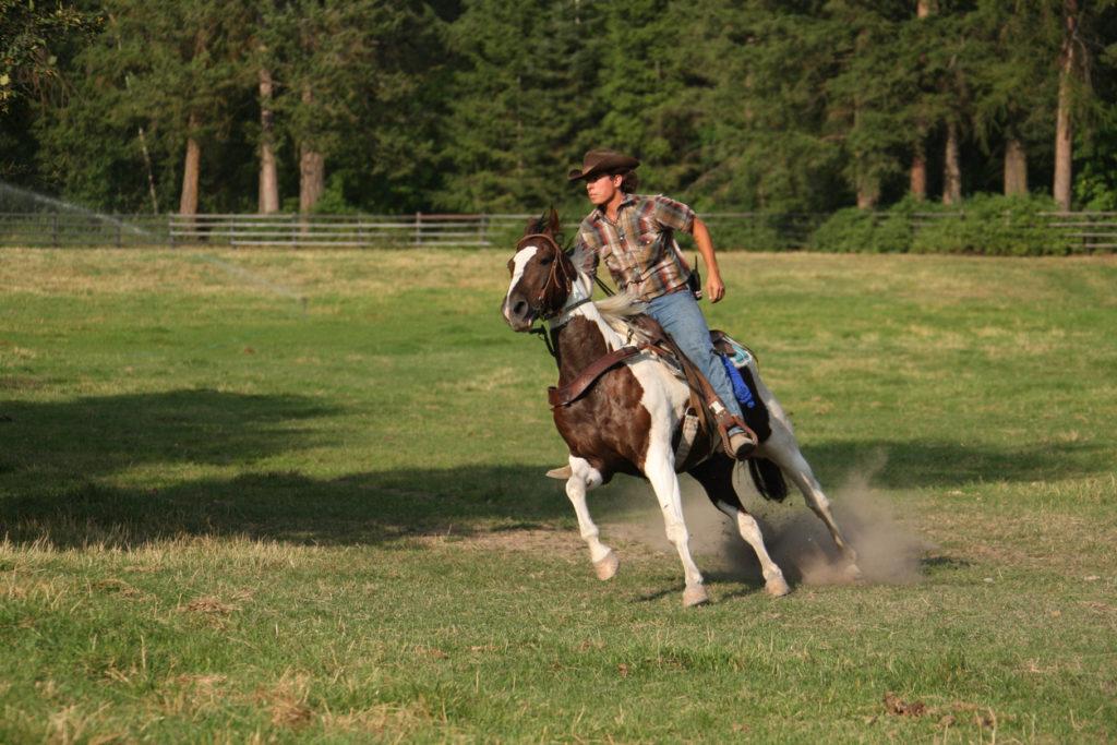 Wrangler at a ranch in Montana