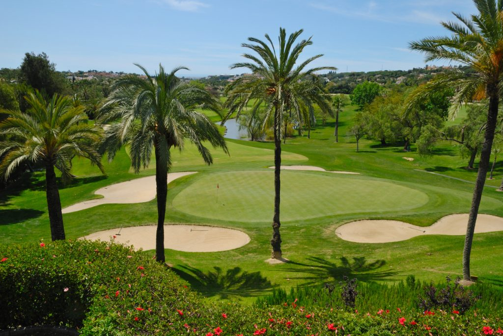 Golf course in Marbella - Golf valley
