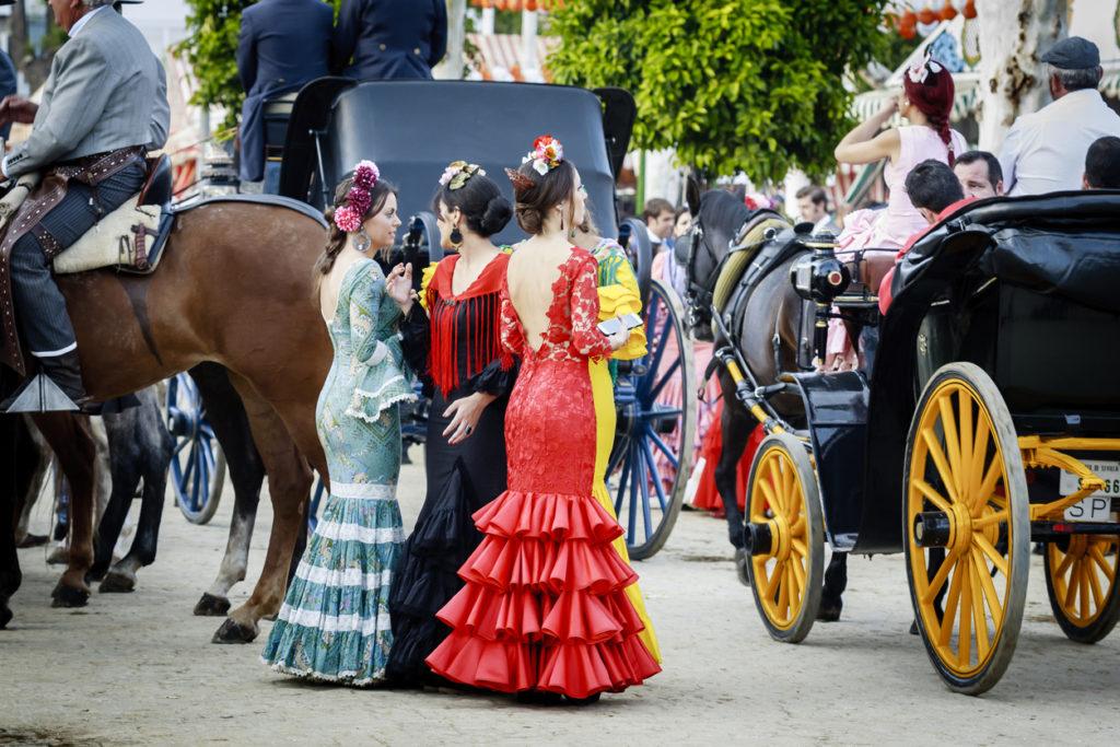 """Seville Fair """"Feria de abril de Sevilla"""""""