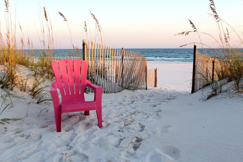 Sunset in Gulf Shores, Alabama