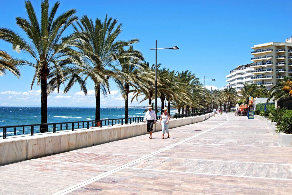 The Promenade in Marbella