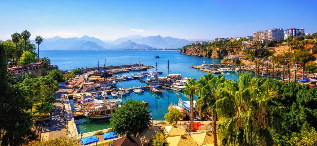 Antalya Old Town port