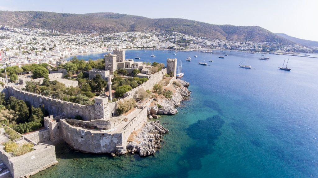 Bodrum on Turkish Riviera.
