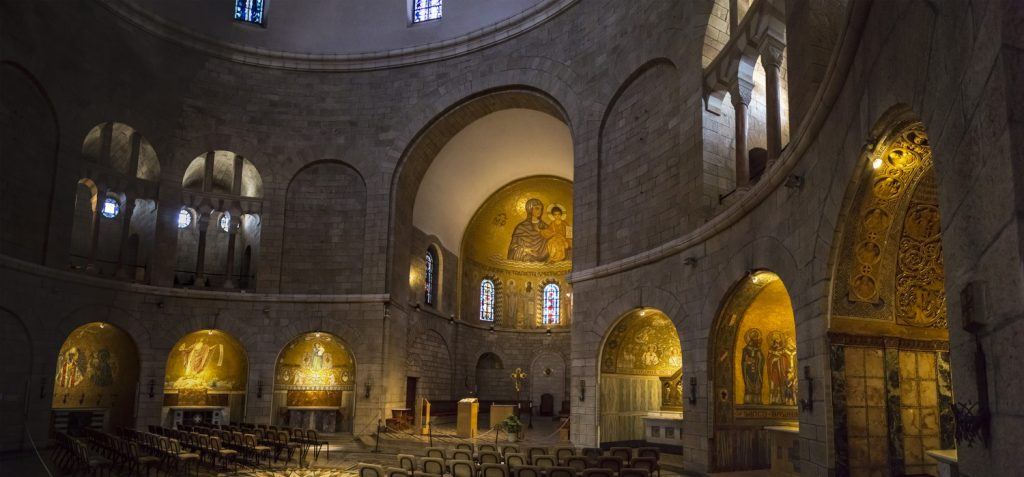 Church of Dormition Abbey on Mount Zion