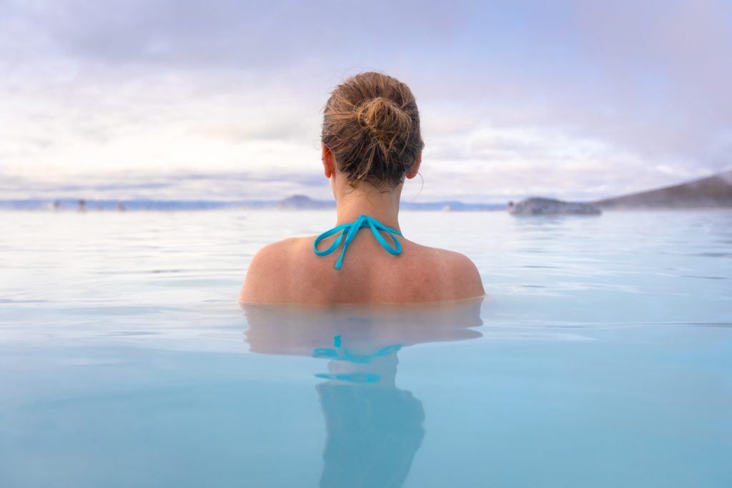 Geothermal spa in Iceland