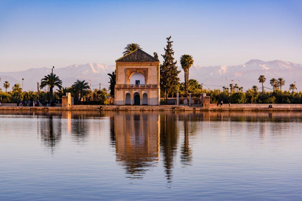 Saadian Pavilion and Menara Gardens