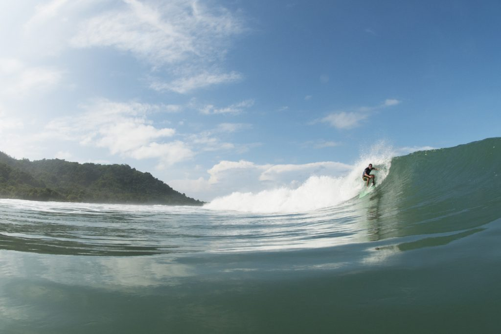 Surfing Glassy Waves in Costa Rica