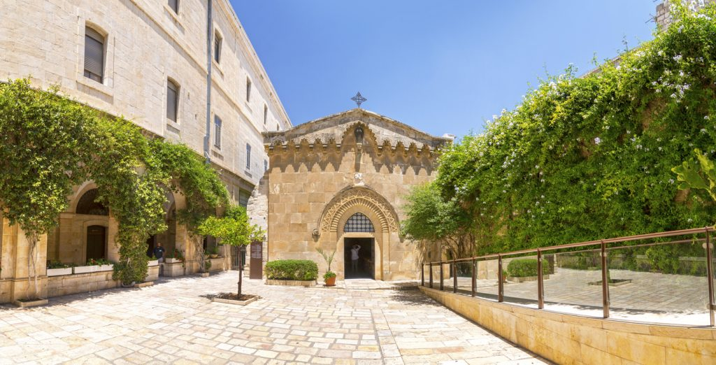 The Chapel of the Flagellation, Jerusalem