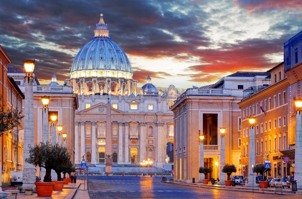 Vatican St. Peter's Basilica