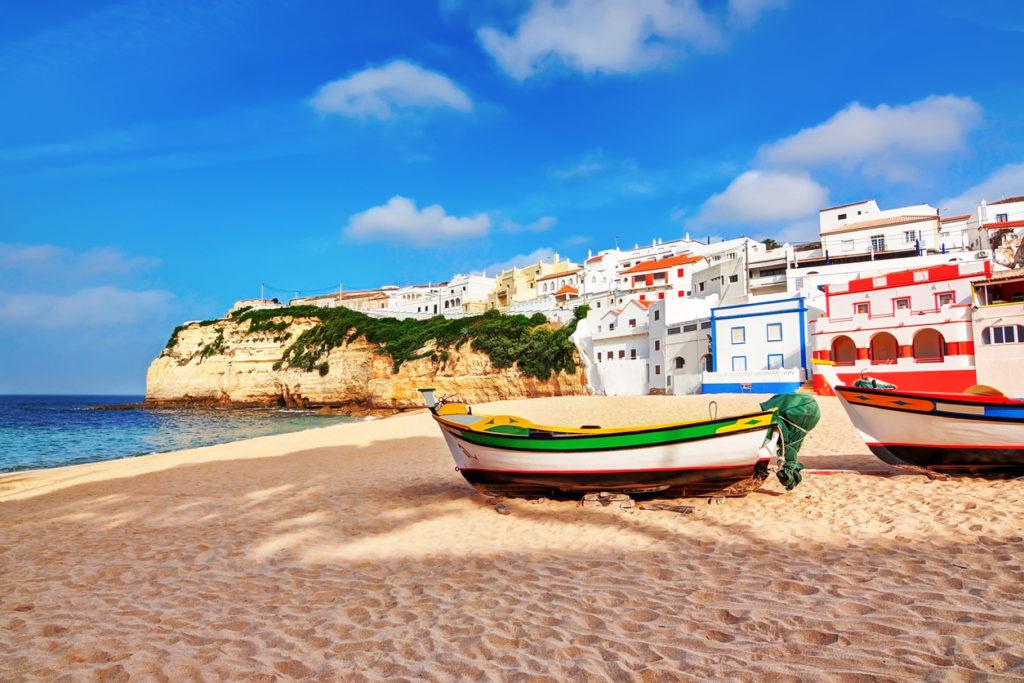 Carvoeiro classic fishing boats