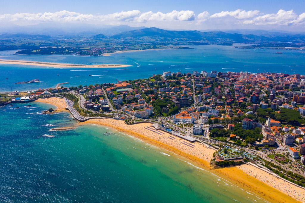 Coast at Santander