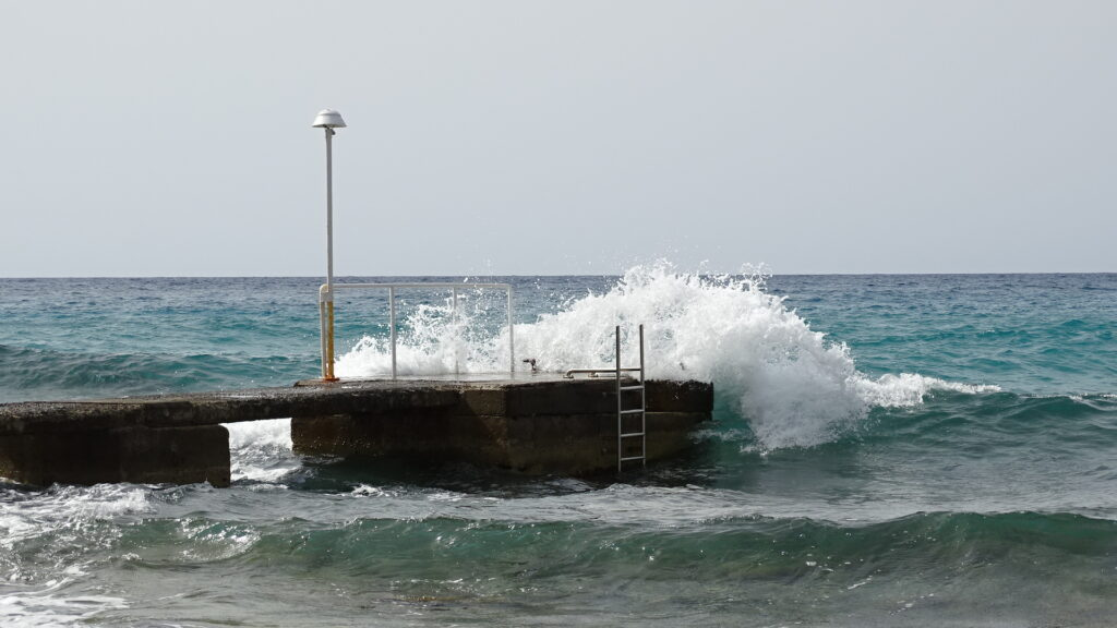The swell starts to arrive in Majorca!