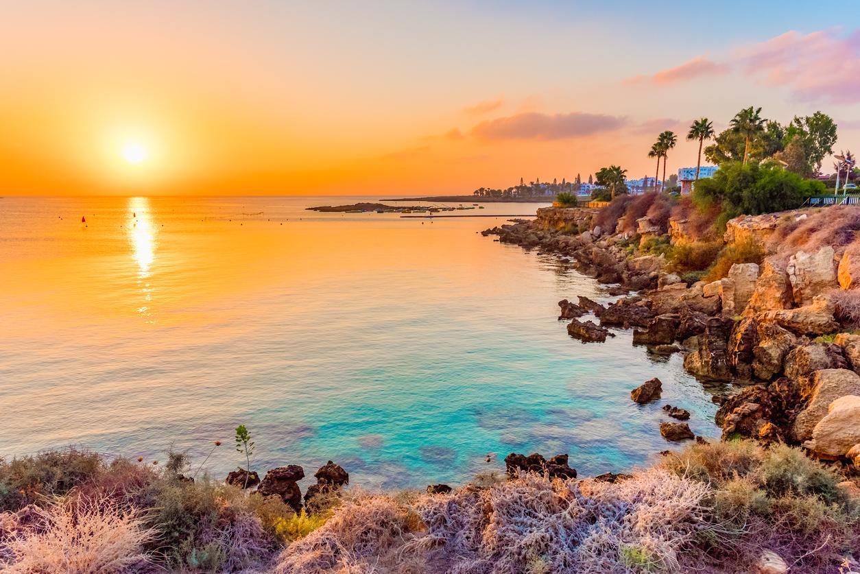 Fig tree bay beach in Protaras, Cyprus