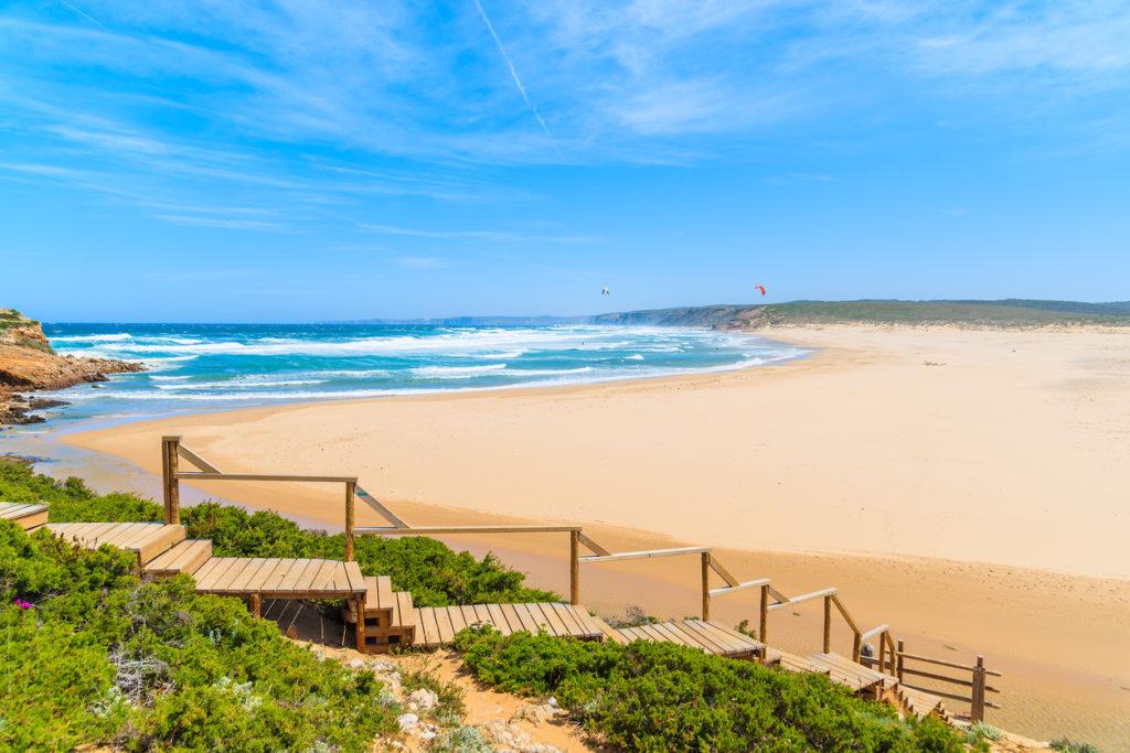 Praia do Bordeira beach, Algarve