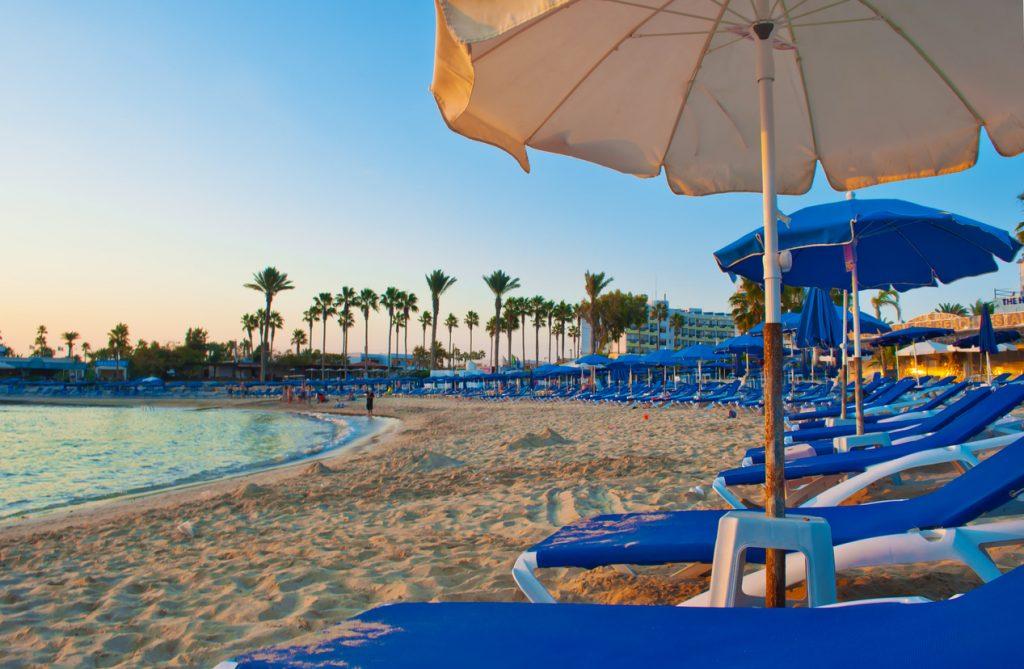 Relaxing in Cyprus