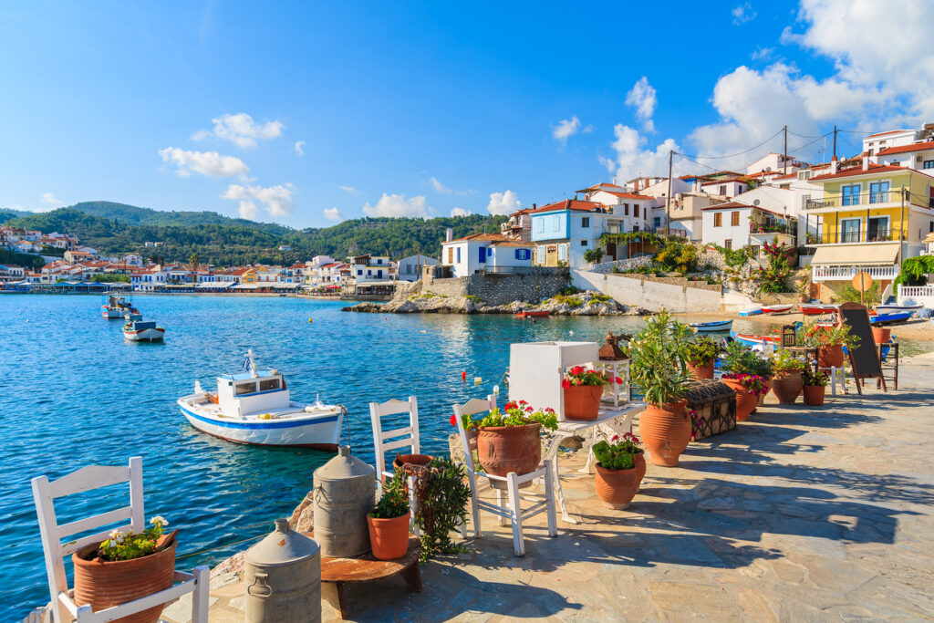 Samos in Greece