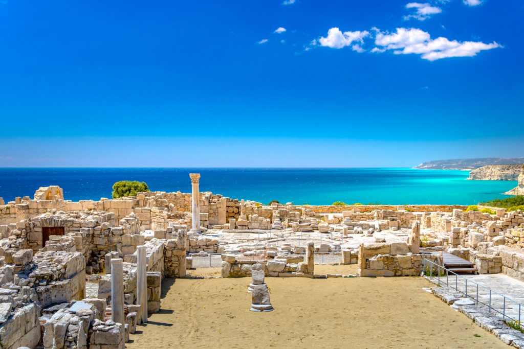 The Sanctuary of Apollo at the Kourion World Heritage Archaeological site