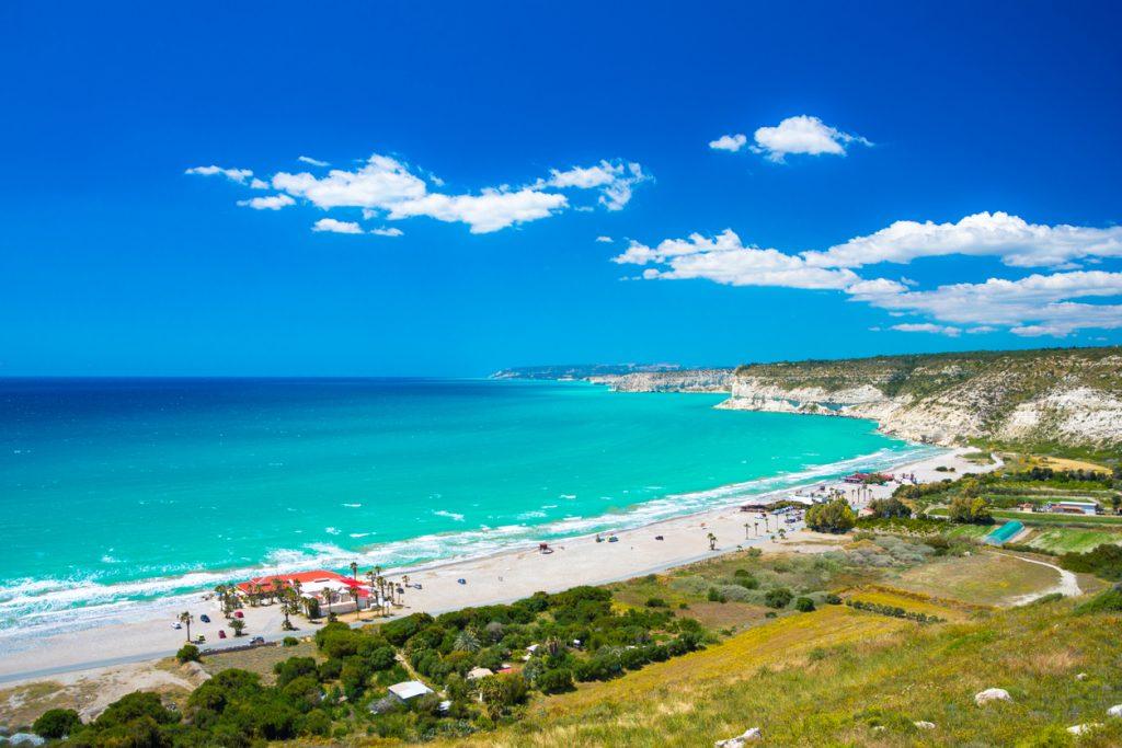 The famous beach of Kourio