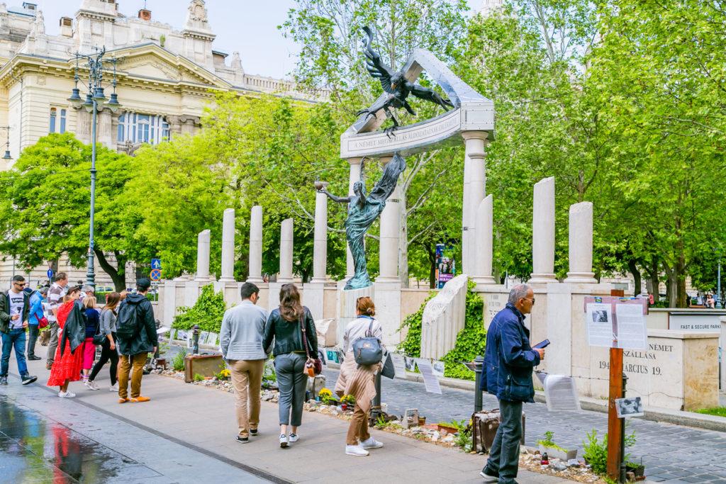 Budapest Liberty square memorial