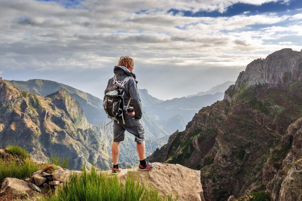 Hiking on Madeira island