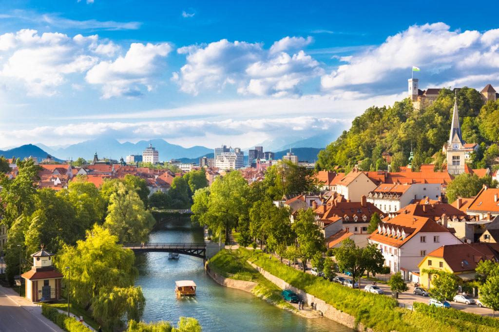 Ljubljana, Slovenia, Europe.
