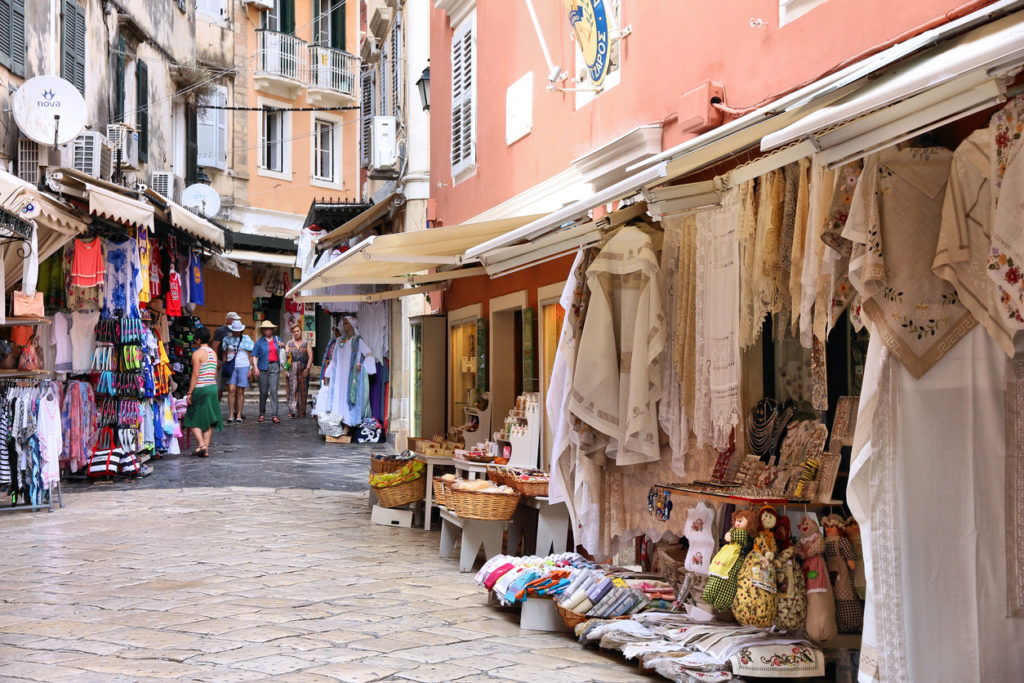 The Old Town of Corfu is a UNESCO World Heritage Site.