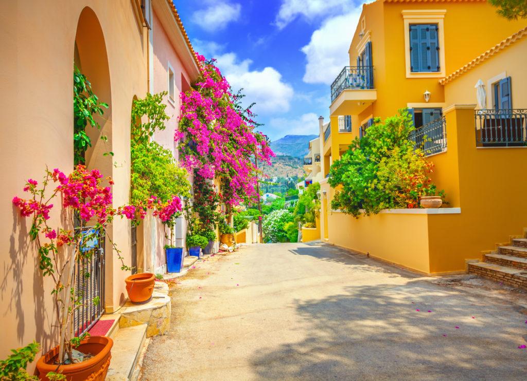 A street in Kefalonia island