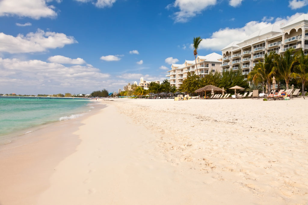 Beaches of the Cayman Islands