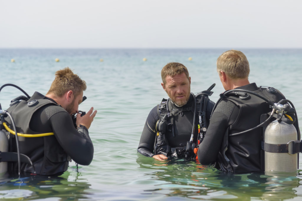 Diving in Eilat Israel
