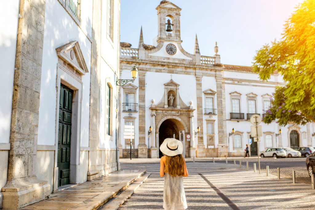 Faro town on the south of Portugal
