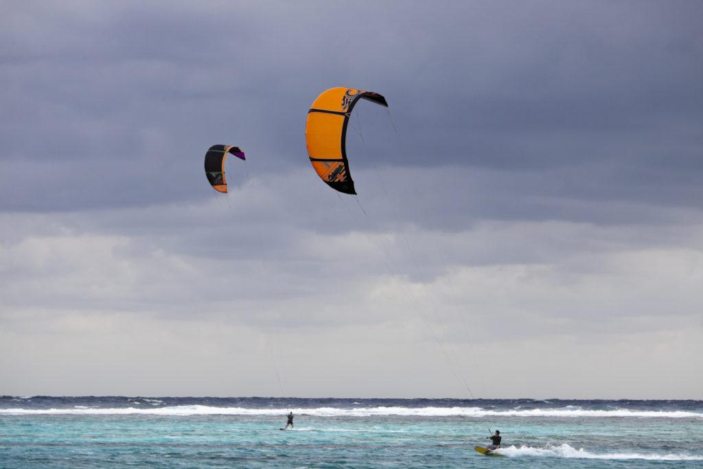 Kite Surfers, Grand Cayman