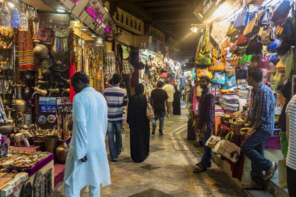 Muttrah Souk in Muscat, Oman