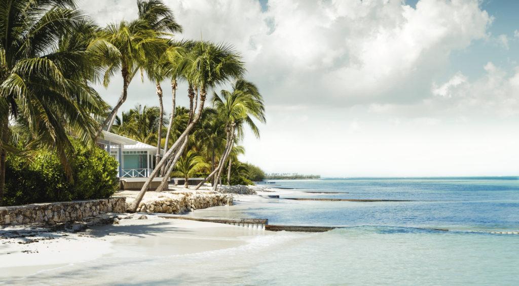 Paradise beach on Grand Cayman