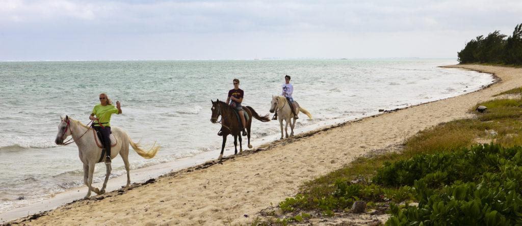 Riding on the beach, Grand Cayman