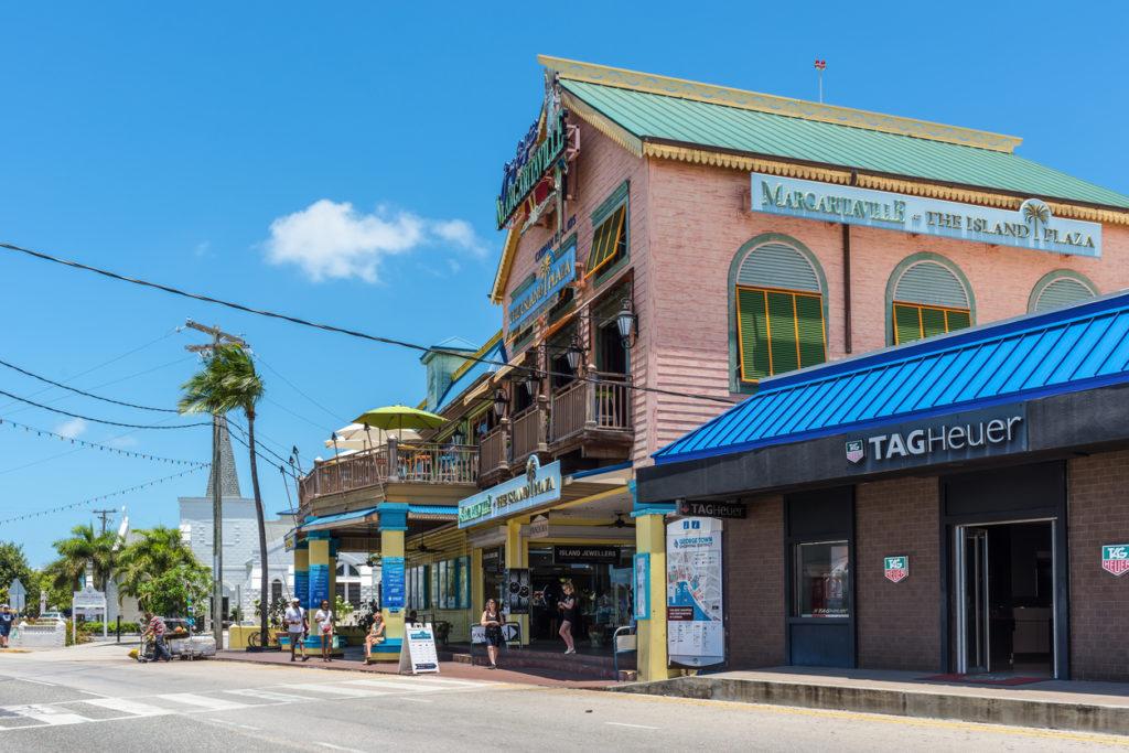 Street life at George Town, Grand Cayman Island
