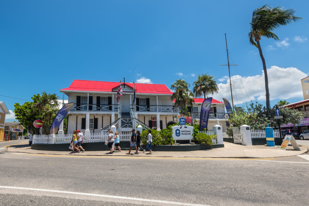 The National Museum in downtown George Town, Grand Cayman