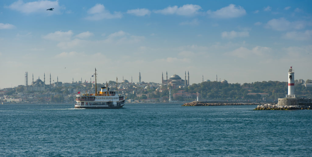 Panorama of Istanbul in the afternoon