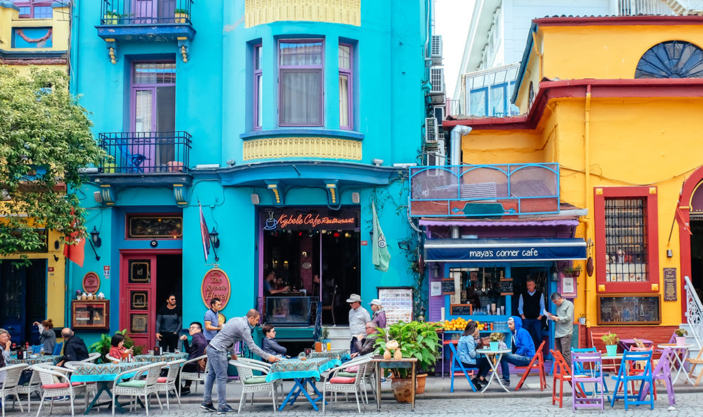Street scene in Sultanahmet, Istanbul