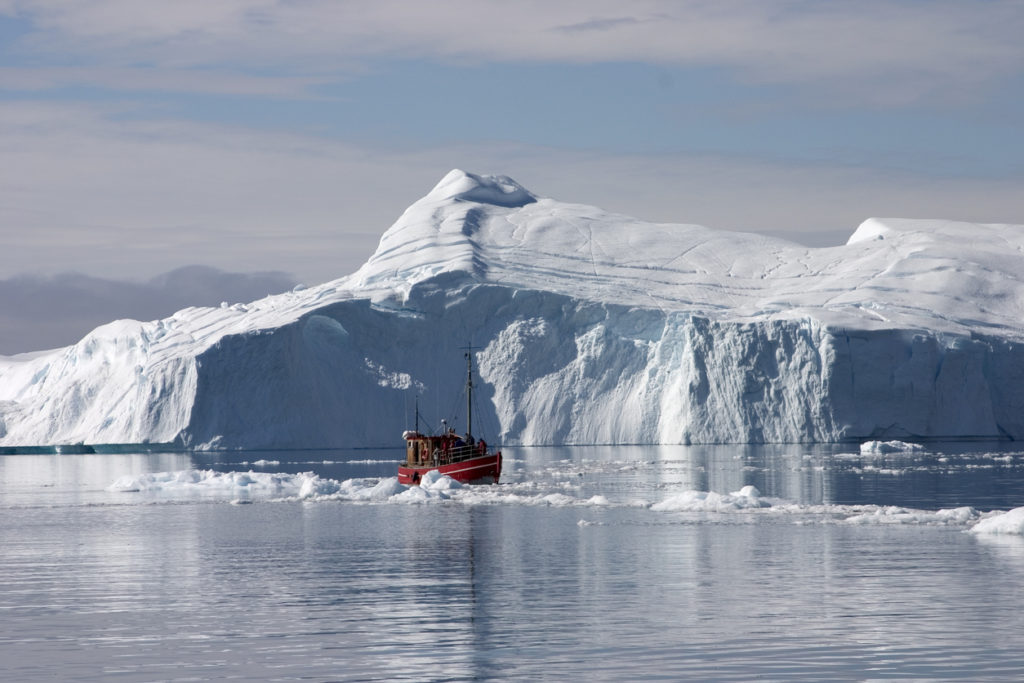 Icefjord in Greenland