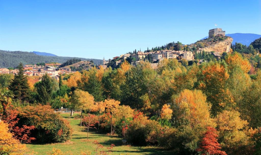 Provençal village of Vaison-la-Romaine