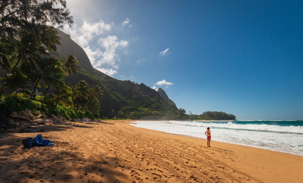 Makua Beach, Kauai