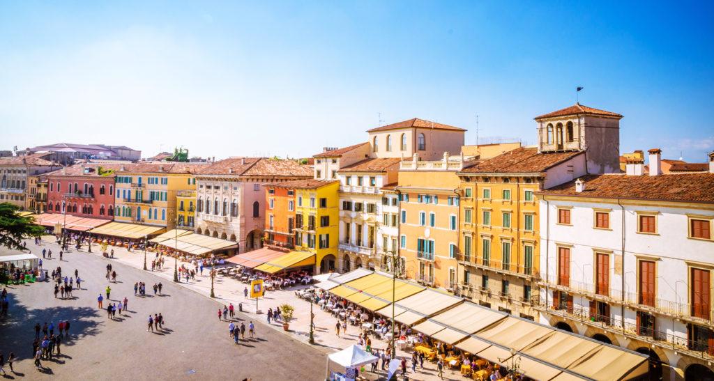 Beautiful old streets of Verona