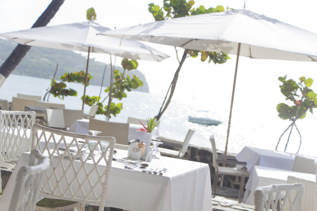 Eating out in St Lucia