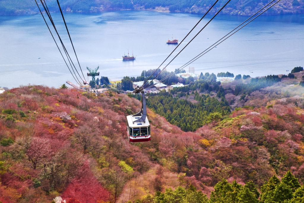 Mt. Komagatake Ropeway at Hakone