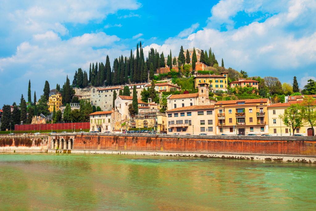 San Pietro Castle in Verona