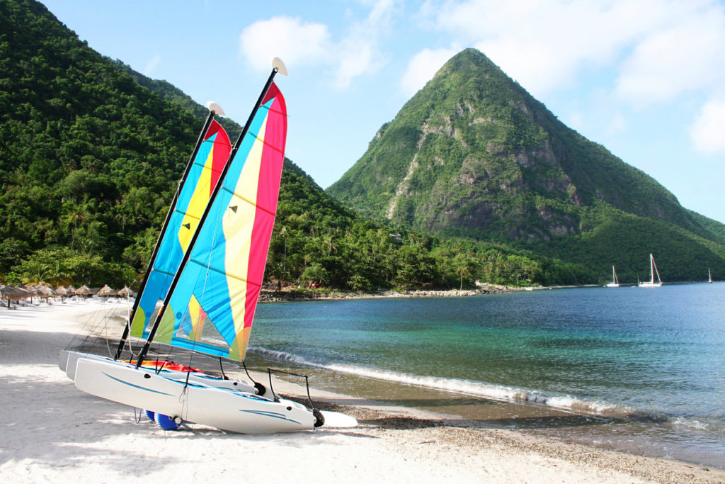 Watersports in St Lucia